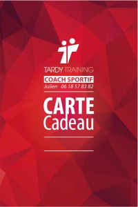 Carte Tardy training 2015